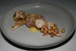 Surf and Turf • pork loin • octopus • chickpea