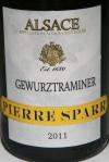 Pierre Sparr 2011 Gewurztraminer Alsace $62.00