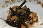 'S'mores' of charred marshmallow, chocolate-hazelnut-marshmallow gelato, malted graham crumb