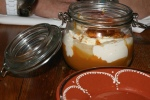 Butterscotch pudding with salted caramel $7.00