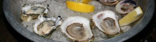 Kumamoto Washington Oysters 3 Caraquet NB Oysters 3 Littleneck Clams PEI 1