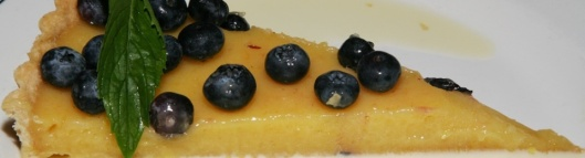 Tarte au Citron avec Bleuets – our famous lemon tart with blueberries 6