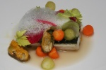 Mackerel - mussels apple celery