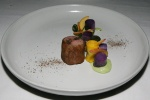 Lamb Saddle - avocado wattle seed purple potato