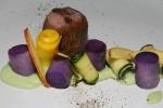 Lamb Saddle - avocado wattle seed purple potato