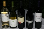 2012 Chile, Sauvignon Blanc, Echeverria $14 glass / $50 bottle 2012 Margaret River, Chardonnay, Vasse Felix $16 glass / $60 bottle 2011 Paarl, Pinotage, Landskroon $14 glass / $50 bottle 2010 Niagara on the Lake, Gamay, Stratus $17 glass / $65 bottle 2012 San Juan Argentina, Syrah/Tannat $14 glass / $50 bottle