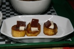 Maduros with Queso y Bocadillo - Ripe plantain with cheese & guava