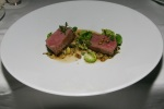 Veal Strip Loin - Pear, Juniper, Hemp Seed, Brussels