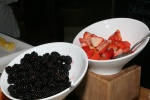 Blackberries, Strawberries