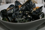 Mussels - Steamed PEI Mussels with Fennel Pollen Cream & Toast