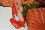3. House Special Sashimi Plate Seasonal Price - Large assortment, quality, variety. Serving for 2-3 ($53)