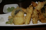 75. Assorted Tempura A tempura assortment of shrimp, vegetable, and fish ($14.00)