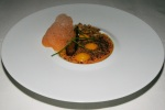 bolero carrots ginger coriander seed and pumpkin oil