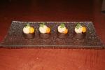 Hazelnut Gelato, fermented gooseberry, chervil