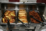 French Toast, Cheese Blintzes, Salmon Patties