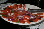 Lux (Smoked Salmon), Onion