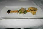 Foie gras torchon - grape confit, toasted brioche
