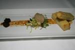 Foie gras torchon - grape confit, toasted brioche