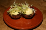 Morcilla Scotch Egg, Hollandaise and Frisée ($9.00)