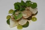 Sunchoke • cucumber • celeriac • sweet fern