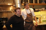 Matt Kantor (Chef and Co-Owner) and Chris Scott (Chef de Cuisine)