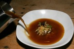FIESTA Sopa Maximiliana - French onion soup meets mushroom chile broth $7.50