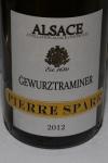 Pierre Sparr Gewurztraminer 2012 Sigolsheim Alsace France $45.00