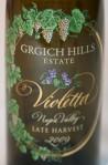 Grgich Hills 2009 Violetta Late Harvest