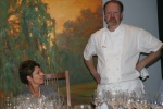 Chef Martin Kouprie and Maryann Wedner, Grgich Director of Export Sales