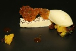 Milk Chocolate Caraway, Plum & Hazelnut Ice Cream
