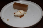 Earl grey tart with Jersey milk ice cream £8.50