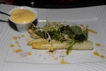LES ASPERGES BLANCHES - White asparagus from Vaucluse, Maltese sauce