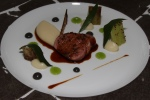 LAMB WITH CUCUMBER (c. 1805) Green Pepper and Caviar Oil