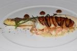 Scottish Langoustine with Asparagus, Shiitake and Smoked Dulse