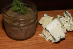 House made rillettes; Ontario Stilton