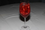 Rosé Sangria - Rosé wine, Hayman's Old Tom Gin, Peach Schnapps & fresh berries $10.00