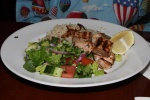 Salmon Kebab - Atlantic salmon grilled with lemon garlic and spices