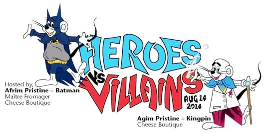 Heroes vs. Villains Aug 14 2014