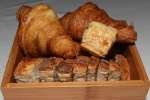 Croissants, Current Scones, Country Bread