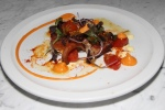 Spanish octopus - confit fingerling potatoes saffron aioli pimento aioli confit cherry tomatoes pickled mustard seeds $14.00