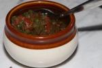 Condimentos - salsa criolla  $2.00