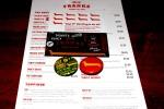 940 Bloor Street West - menu, loyalty card, pins