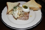 Terrine di volaille, foie gras & remoulade $14.00