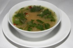 Yucatan Hot And Sour Soup - pulled chicken, coriander, lime, goji berries $12