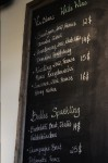 The White and Sparkling Wine List