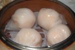 3 Steamed Siu Mai with Shrimp L $4.90