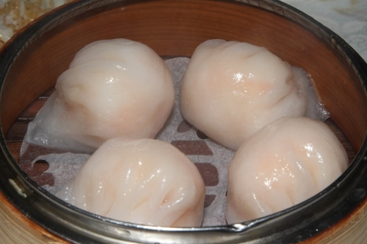 3 Steamed Siu Mai with Shrimp L $4.90