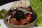 Beef Brisket Burnt Ends - lettuce wrap, pickled cucumber, coleslaw, chili $12