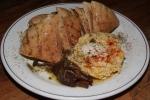 Hummus (pita, tahini) complimentary
