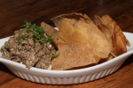 Chopped Liver (boiled egg, schmaltz onions, pita chips) $12